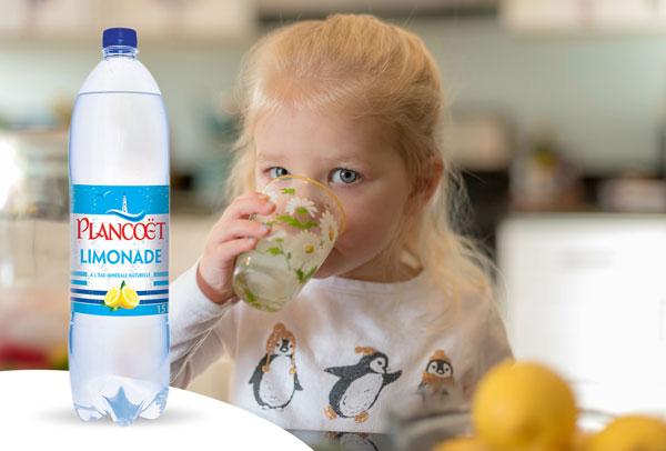 Plancoët Limonade à l'eau minérale naturelle